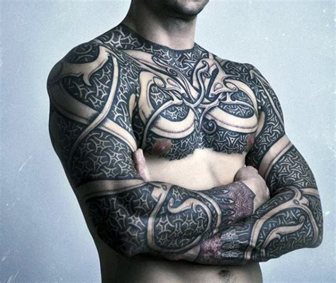 full torso tattoos celtic tattoos www pixshark images