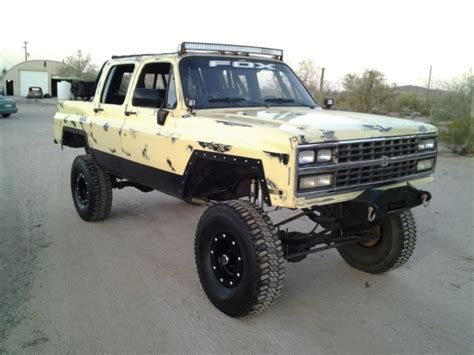 lifted jeep truck 1990 chevy 4x4 lifted 4x4 jeep rat rod shop truck