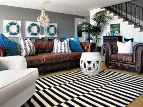 leather living room decorating ideas brown leather couch decorating ideas get furnitures for home