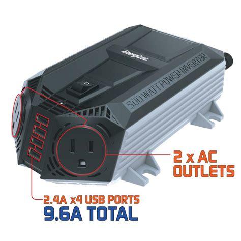 Power Bell 500 Watt black decker 500 watt power inverter pi500p the home depot