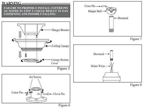 hton bay ceiling fan flush mount installation instructions hton bay ceiling fan removal instructions www