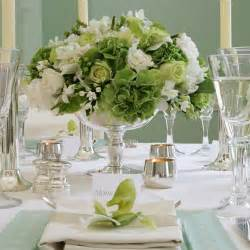 and white centerpieces green and white centerpieces wedding ideas