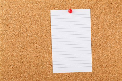 How To Make A Board With Paper - note paper on cork board free stock photo domain