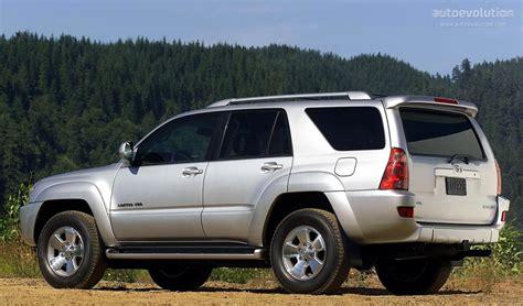 Toyota 4runner Length Toyota 4runner Specs 2003 2004 2005 2006 2007 2008