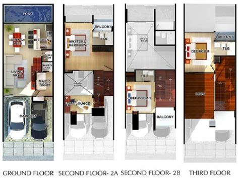 townhouse floor plans and designs 3 story townhouse floor 21 surprisingly modern townhouse designs and floor plans