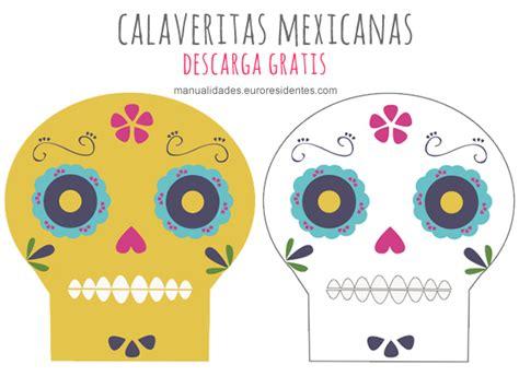 imagenes de calaveras mexicanas infantiles dibujos de calaveras mexicanas para imprimir y decorar