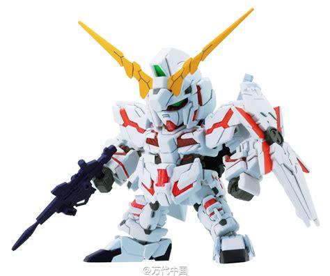 Sd Gundam Unicorn Banshee gundam sd gundam ex standard unicorn gundam destroy