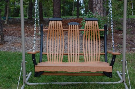 double glider swing swings double gliders tables