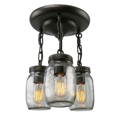jar flush mount light semi flush mount ceiling lights to enhance room d 233 cor