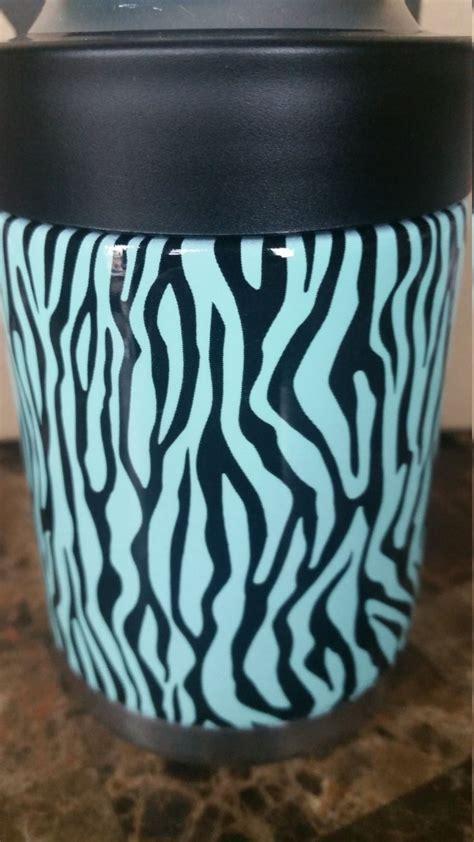 pattern yeti cup yeti koozie in zebra pattern by skinsandskulls on etsy