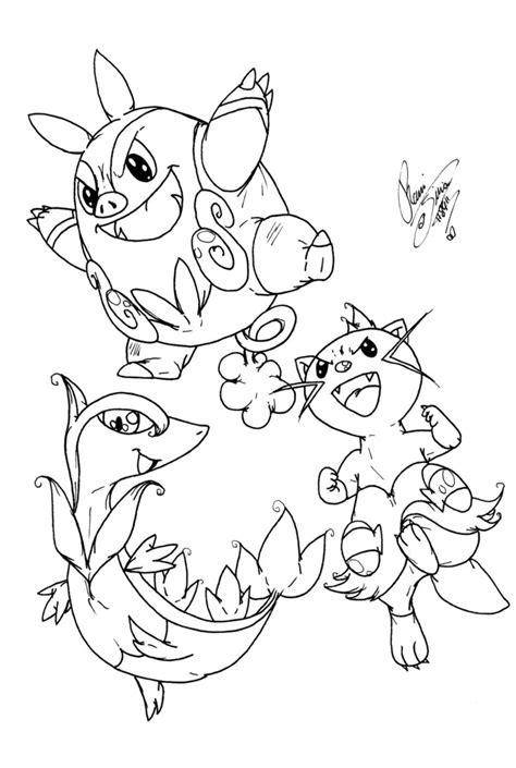 dewott pokemon coloring page pokemon servine coloring pages images pokemon images