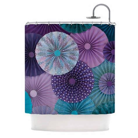 teal and purple shower curtain shop purple and teal shower curtains on wanelo