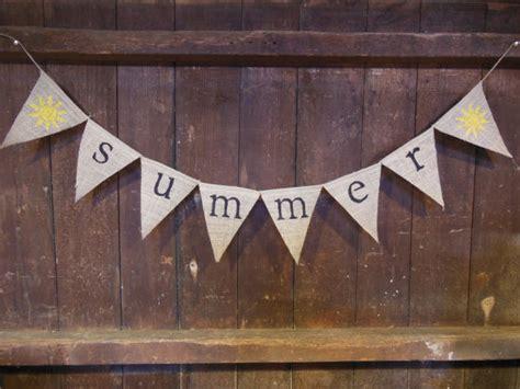 garland home decor summer banner summer bunting summer garland home decor