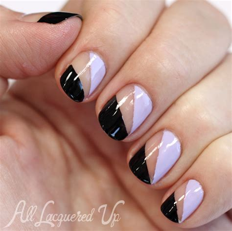 Nail Art Tutorial Essie | nail art tutorial essie negative space nail art from