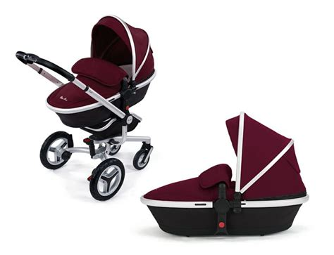 buggy board seat silver cross surf 2 pram and pushchair in aubergine from silver cross