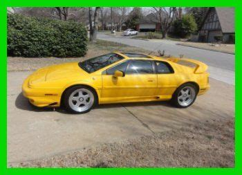 old car repair manuals 1998 lotus esprit on board diagnostic system purchase used 1998 lotus esprit se turbo 3 5l v8 32v manual 3 roof option leather cd in tulsa