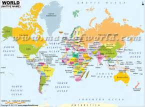 world map country names world map political with country names