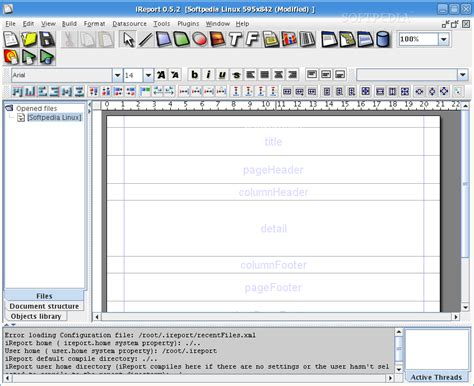 design jasper report using ireport ireport designer for jasperreports download linux