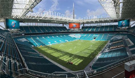 dolphin stadium seats miami dolphins stadium s 425 million renovation nearly