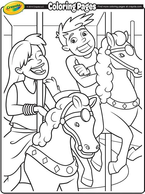 county fair coloring coloring pages