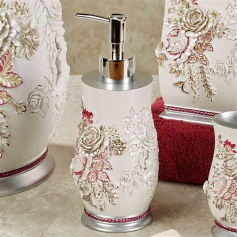 Floral Bathroom Accessories Secret Garden Floral Bath Accessories