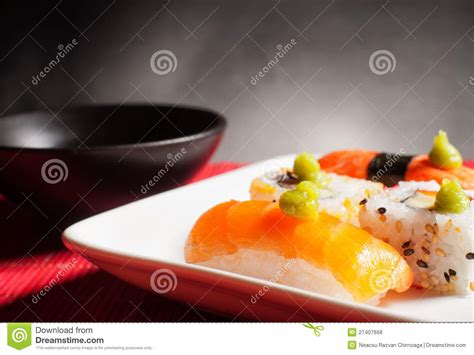 authentic japanese cuisine traditional japanese food royalty free stock photos