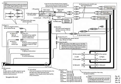 pioneer 14 pin harness diagram wiring diagram with