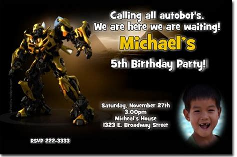 transformers birthday invitations template transformers birthday invitations jpg