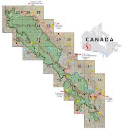 rocky mountains in canada map rocky mountains canada map
