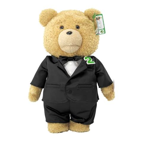 pictures of teddy bears in tuxedos ted 2 ted in tuxedo 24 inch r rated talking teddy bear