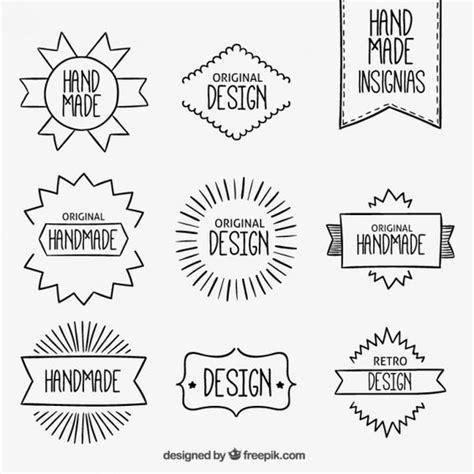 design heading font emblemas handmade design conception d en t 234 te et balles
