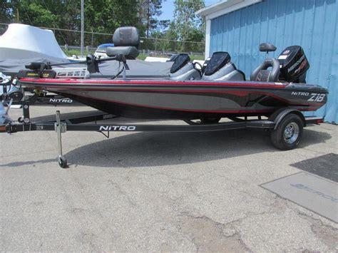 nitro bass boat z18 2017 new nitro z18 bass boat for sale 28 995 lansing