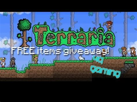 Terraria Free Giveaway - terraria free item giveaway server xbox 360 outdated closed youtube