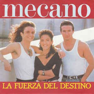 mecano la fuerza del destino vinyl at discogs
