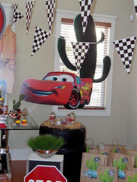 Disney Pixar Cars Baby Shower Decorations by Disney Pixar Car Birthday Ideas Photo 6 Of