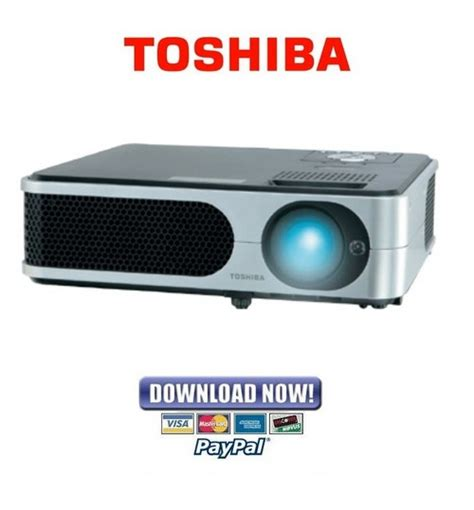 Proyektor Toshiba Tlp X2000 toshiba tlp x2000 x2500 x3000 series official service manual