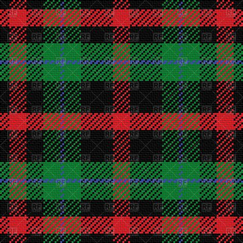 vector plaid pattern free scottish tartan pattern seamless background vector image