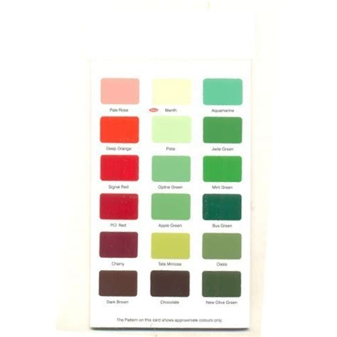 synthetic enamel shade cards paints wall putty varnishes patni printers p ltd in