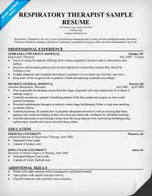 Therapist Report Sample Respiratory Therapist Resumes Examples