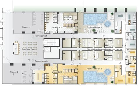 physical layout of salon equipment selection and configuration planning and