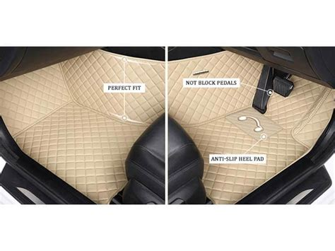 Karpet Honda Jazz 2017 5d premium custom fitted car mats for honda jazz 2017 beige