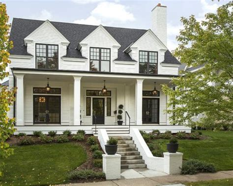 modern colonial houzz