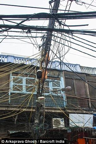 power cables in delhi dangle perilously to the