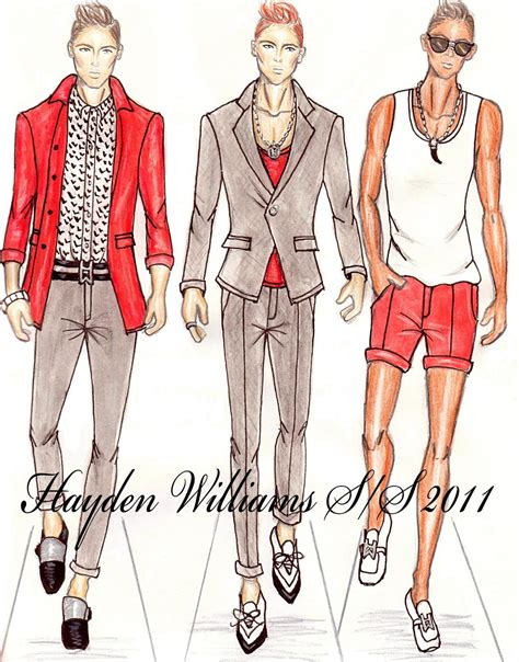fashion design for man hayden williams fashion illustrations hayden williams