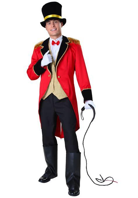 mens ringmaster costume plus size ringmaster costume