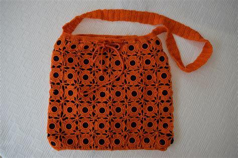Handmade Crochet - original handmade crochet purse cb205