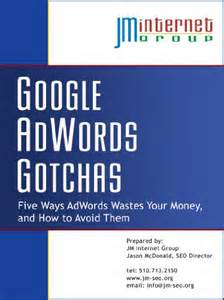 Google adwords gotchas five ways adwords wastes your money and how