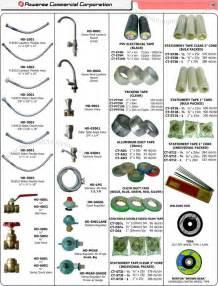 Plumbing household supplies lpg hose duct tape welding rod