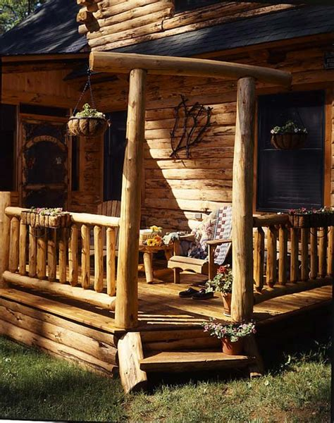 log cabin front porch swing log cabin love pinterest country cabin on pinterest log cabins cabin porches and