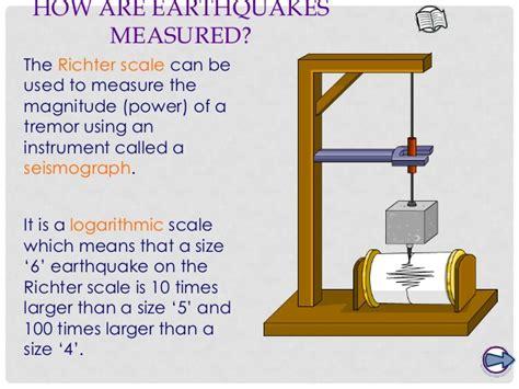earthquake measurement 4 measuring activity